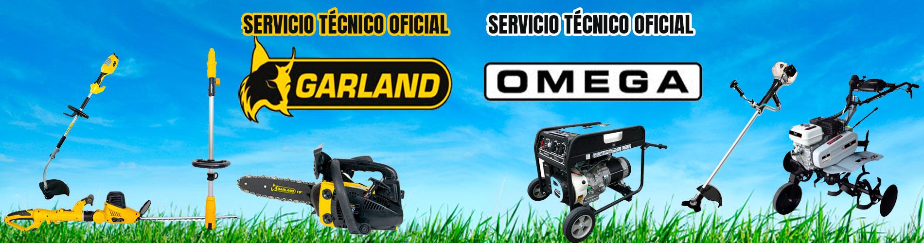 Servicio tecnico oficial Garland y Omega - Contacta con nosotros
